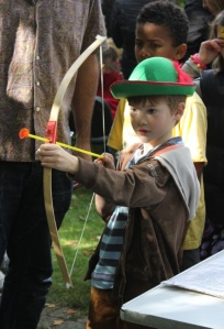 William Tell game, Apple Day 2012