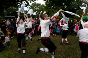 """Sharp Morris"" Cotswold Morris dancing side"