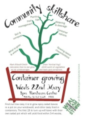 Container growing poster